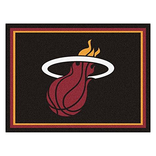 FANMATS 17457 NBA Miami Heat Rug by Fanmats
