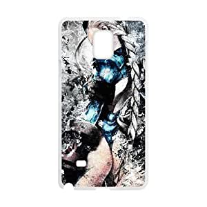 Street Fighter Samsung Galaxy Note 4 Cell Phone Case White xlb2-190390