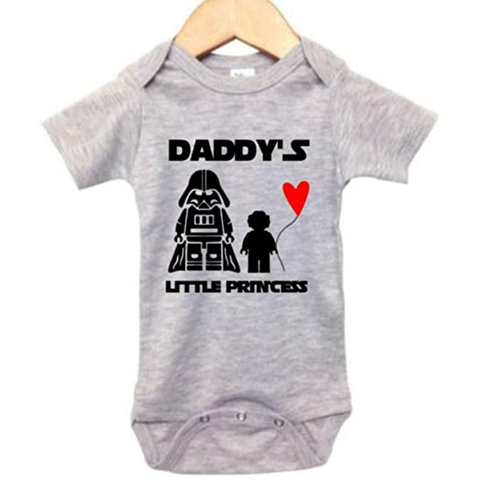 2a4560e7e Star Wars Onesie/Daddy's Little Princess/Darth Vader/Princes Leia Bodysuit  (0