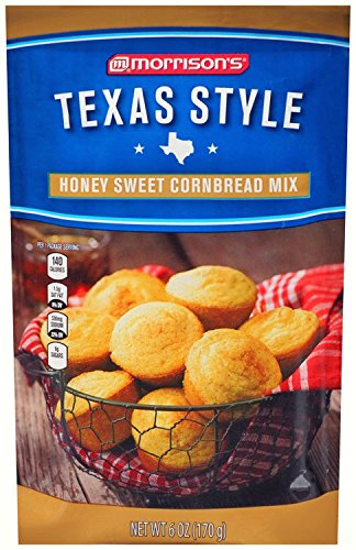 Morrison's Texas Style Honey Sweet Cornbread Mix - 16oz (454g)