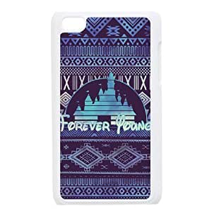 Custom Case for iPod Touch 4 with Personalized Design Forever Young