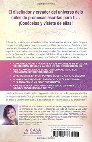 Me vistió de promesas: Sanidad, poder, prosperidad, gracia, vida eterna, alegría, salvación, protección. (Spanish Edition): Julissa Arce: 9781629982700: ...