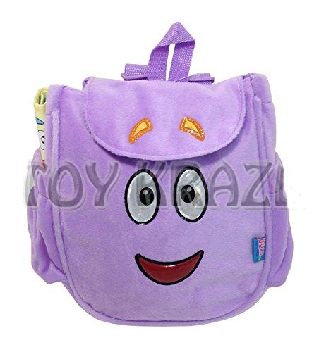 DORA THE EXPLORER PLUSH BACKPACK! SOFT PURPLE BAG MR. FACE MAP GIRL COSTUME NEW by (Dora Explorer Costume Game)