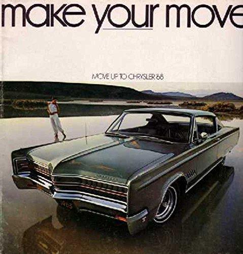 1968 Chrysler Sales Brochure Literature Book Piece Advertisement Options Colors