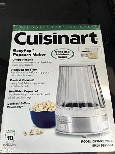 Cuisinart EasyPop Popcorn Maker Stainless