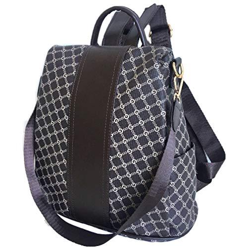 Brown Designer Fashion Backpack GG Handbag For Women Anti-Theft Waterproof Bag ByEmgy