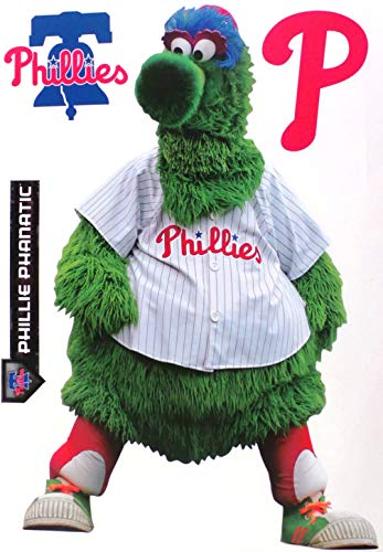 FATHEAD Philadelphia Phillies Mascot Phanatic Logo Set Official MLB Vinyl Wall Graphics 17