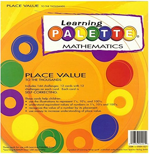 Cards Learning Palette - 2nd Grade Math Place Value Learning Palette