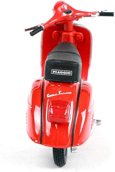 LUCKYCAR 1:18 Vespa Piaggio 1968 GTR Pedal Simulation Modello di Moto in Lega Collezionista di Moto Decorazione Modello di Auto