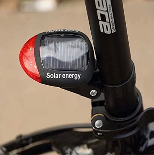 Energía Solar Para Bicicleta Ciclismo Seguridad LED trasera ...