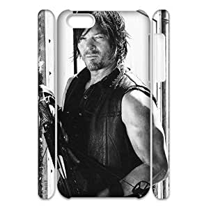 The Walking Dead DIY 3D Cover Case for Iphone 5C,personalized phone case ygtg323097