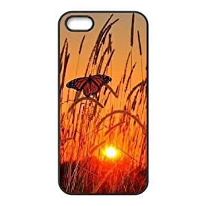Customized Durable Case for Iphone 5,5S, Butterfly Phone Case - HL-R667146
