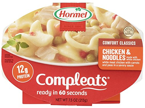 Compleats Hormel Compleats Chicken And Noodle  7 5 Ounce  Pack Of 7