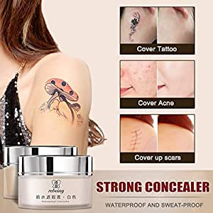 MAyouth Tattoo Concealer Masking Cream 2-Colored Toned Toned ...