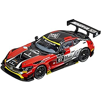 Carrera USA 20030846 Digital 132 Mercedes-Amg GT3 Akka Asp No.87 Slot Car Racing Vehicle, Red