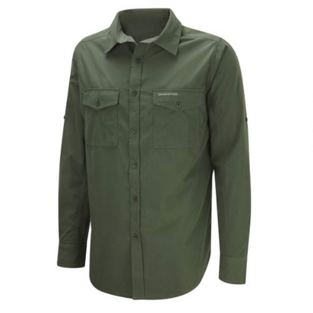 Craghoppers Kiwi Long Sleeved Shirt, Camicia Uomo CMS338