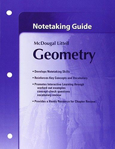 Notetaking Guide Geometry