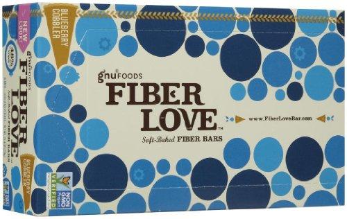 NuGo Fiber d'Lish Bars - Blueberry Cobbler - 1.6 oz - 16 ct by NuGo