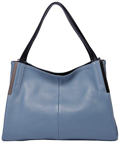 Blue Leather Handbags - 9