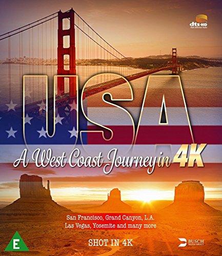 - USA - A West Coast Journey in 4K [Blu-ray]