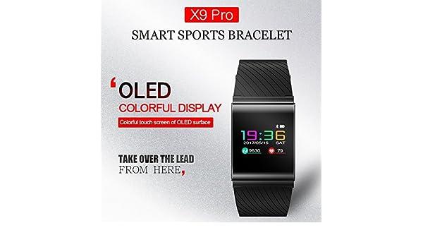 UxradG Fitness Tracker, X9-Pro Smart Bracelet Blood Pressure ...