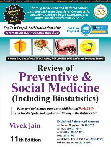 Review of Preventive & Social Medicine: Including Biostatistics