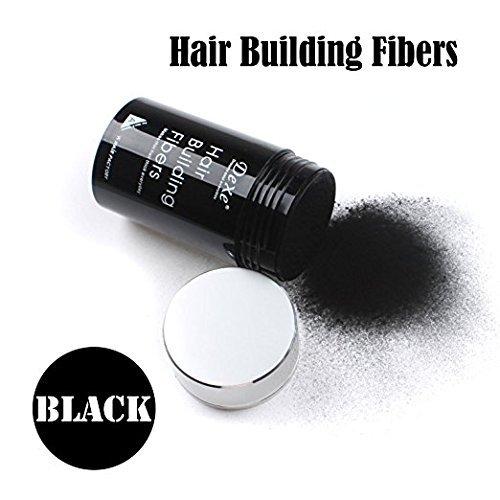 Easy to Use Lose Hair : Dexe HAIR BUILDING FIBERS 22G BLACK COLOR (Hair Fibers)