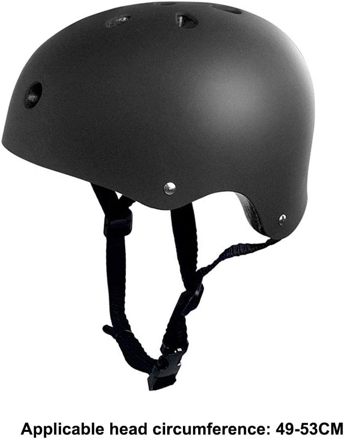 Boys Girls Multi-Sports Safety Cycling Skating Scooter Helmet,Black,S Adjustable Kids Helmetfrom,Toddler to Youth Size