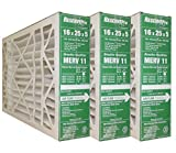 GeneralAire # 4541 MERV 11 for # GF 4511 ReservePro 16x25x5 furnace filter, Actual Size:15 5/8'' x 24 3/16'' x 4 15/16'' Case of 3 Filters