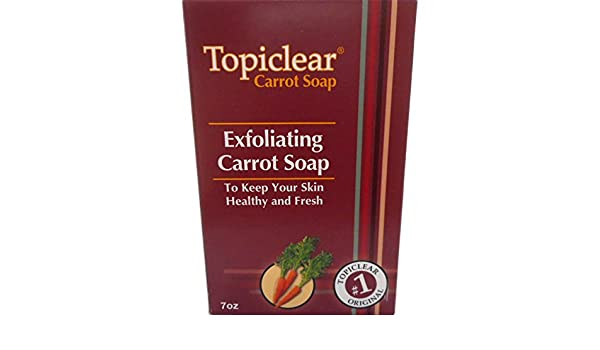 Amazon.com : Topiclear Carrot Treatment Soap. 7oz [Misc.] : Beauty : Beauty