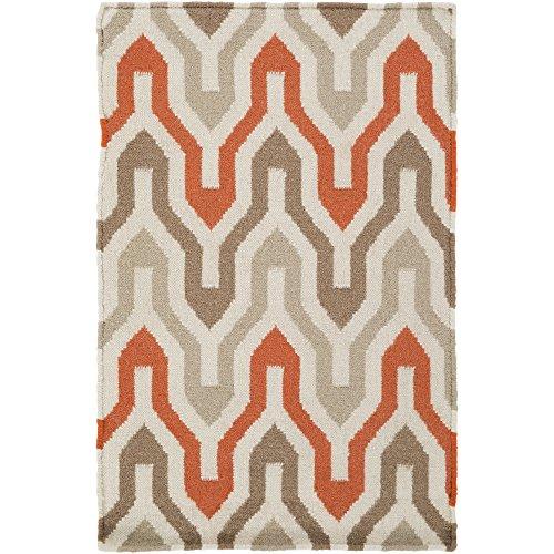 Surya Jill Rosenwald Fallon FAL-1103 Hand Woven 100-Percent Wool Geometric Accent Rug, 2 by (Fallon Wool Rug)