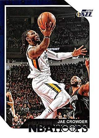 best sneakers 1a5d5 7274b Amazon.com: 2018-19 Panini Hoops #150 Jae Crowder Utah Jazz ...