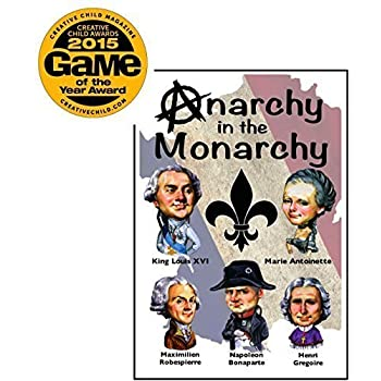 Anarchy in the Monarchy Card Game