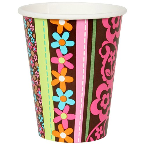 cup 9oz hippie chick birthday