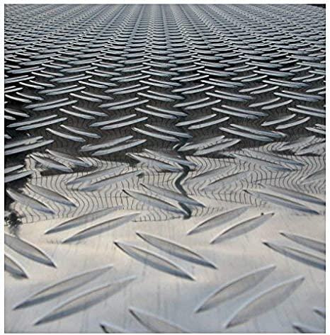 Quintett T/ôle stri/ée en aluminium T/ôle antid/érapante T/ôle larm/ée /Épaisseur 2,5//4/mm Large choix