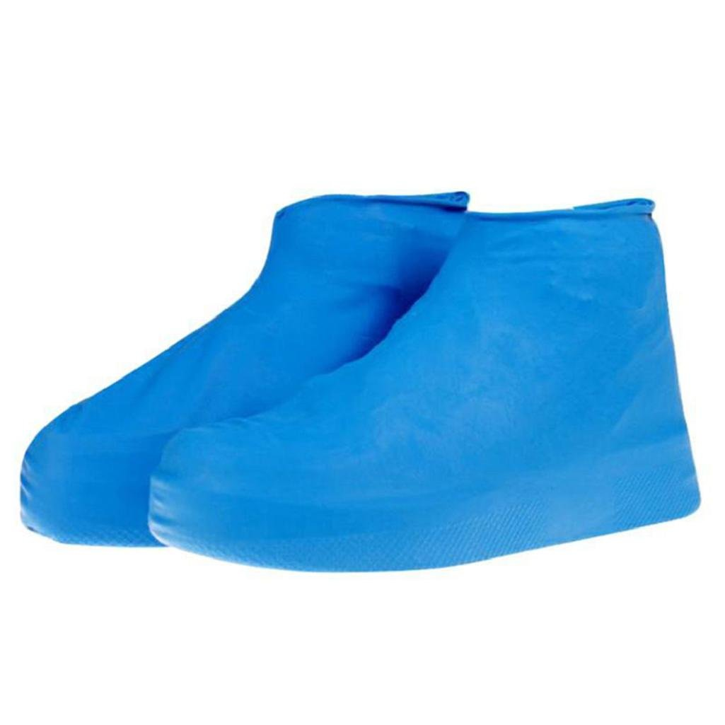 good01 Waterproof Dustproof Unisex Outdoor Disposable Latex Protective Shoe Covers