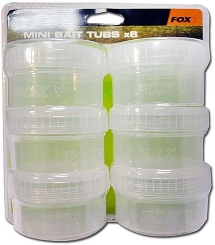 Fox Bait Tubs Full Size Clear