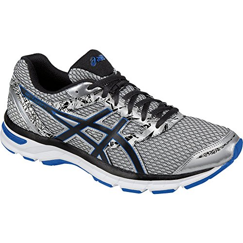 Excite Shoe 4 Men's Gel Silver imperial ASICS black Running nSAWUSx
