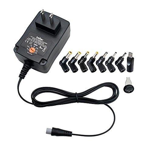 Belker 30W Universal 3V 4.5V 5V 6V 7.5V 9V 12V AC DC Adaptador de alimentación para Casas, electrónicos, routers, Cajas de...
