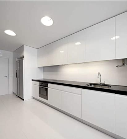 Modern Gloss White Kitchen cabinets - - Amazon.com