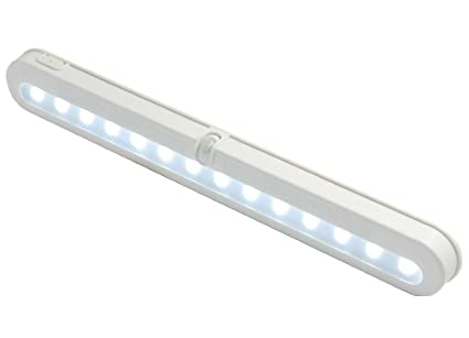 Closet Light, ELanderu0026trade;14 LED Super Bright Battery Operated PIR Motion  Activated LED Under