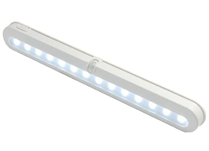 Beau Closet Light, ELanderu0026trade;14 LED Super Bright Battery Operated PIR Motion  Activated LED Under