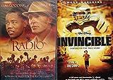 Inspirational Football Drama Bundle - Invincible & Radio 2-DVD Bundle