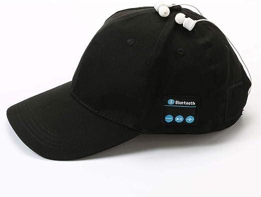 PanDaDa Bluetooth Music Cap Wireless Bluetooth Speaker Hat Bluetooth Sport Hat Baseball Music Cap Hands-Free Call Baseball Hats Headphones Outdoor Leisure Cap for Men Women