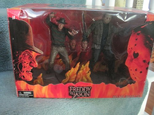 Freddy Vs Jason Movie Deluxe Box Action Figure Set