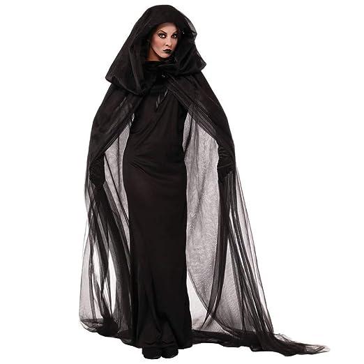 CAMIZL El Vestido Mujeres del Fantasma de la Bruja de ...