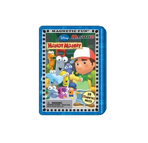 Lee Publications 1 X Disney Handy Manny Magnetic Fun Tin
