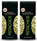 Wonderful Pistachios, Roasted and Salted, 40 Ounce Bag