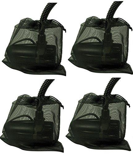 (Pond Boss A16555 Pond Pump Filter / Debris Barrier Bag - Quantity 4)