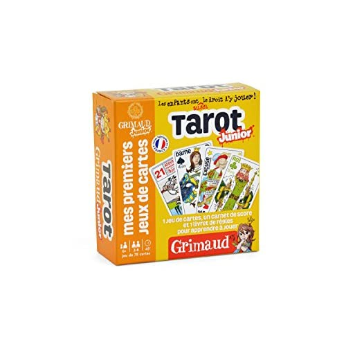 Grimaud Tarot Junior - Jeu de cartes